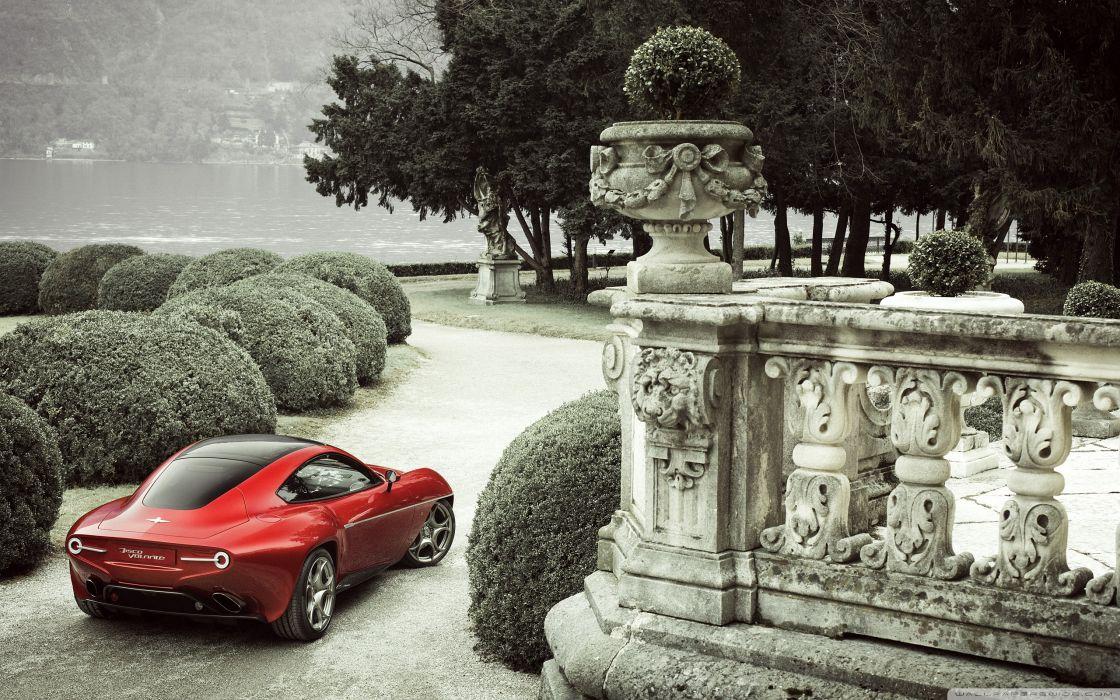 Alfa Romeo Disco Volante wallpaper