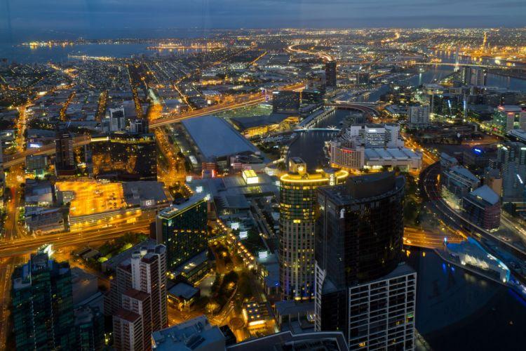 Melbourne Australia city d wallpaper