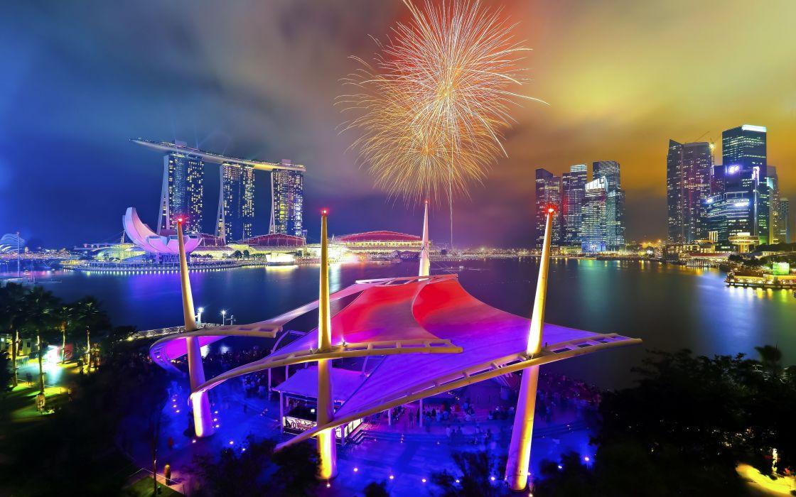 National Day Parade Singapore fireworks   r wallpaper