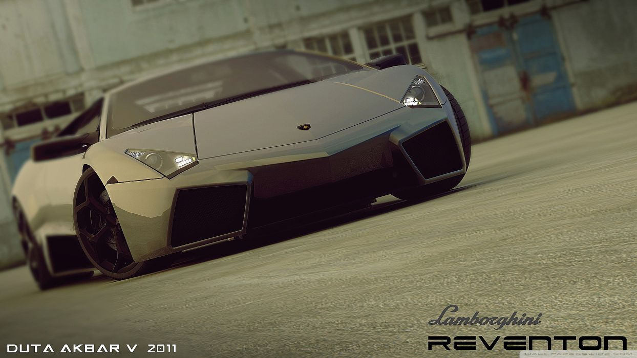 Lamborghini Reventon 3D Max wallpaper