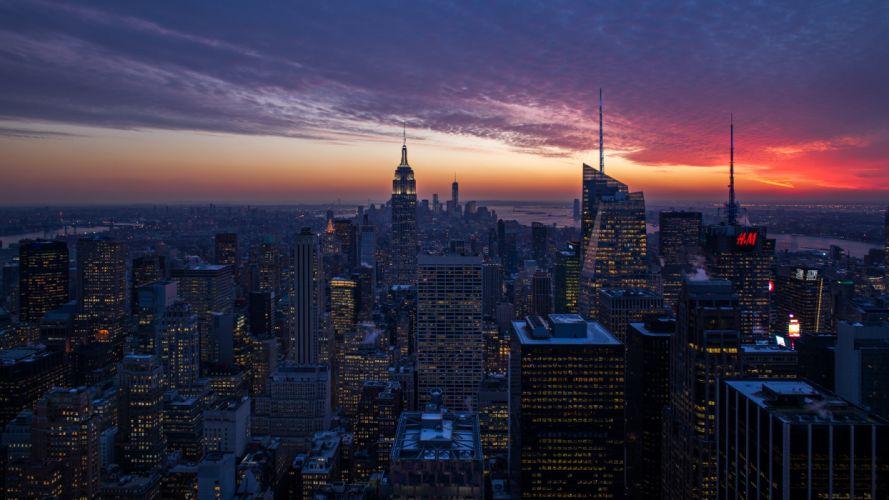 New York Buildings wallpaper