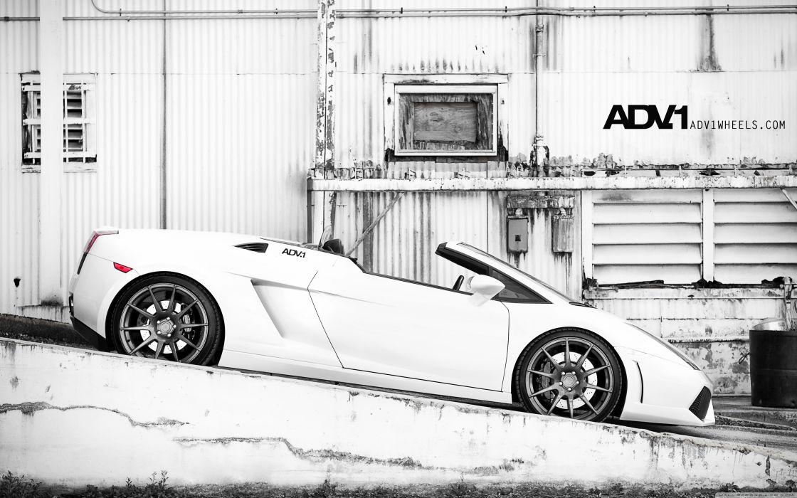 Lamborghini Gallardo Spyder wallpaper