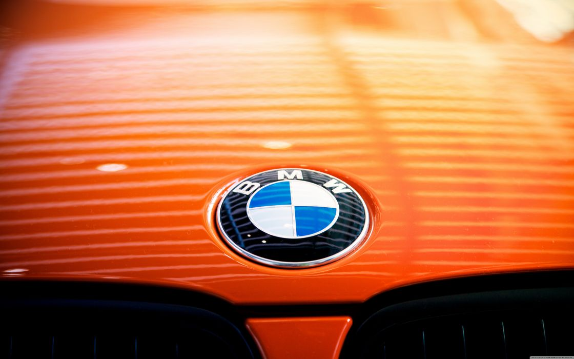 Orange BMW Beast  wallpaper