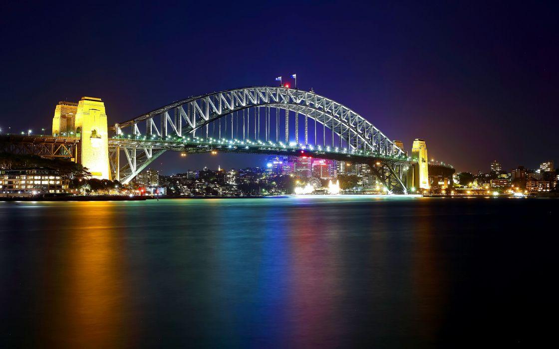 Sydney Harbour Bridge Australia wallpaper