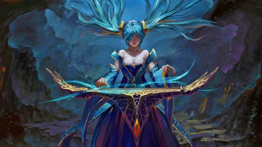 League Of Legends fantasy wallpaper