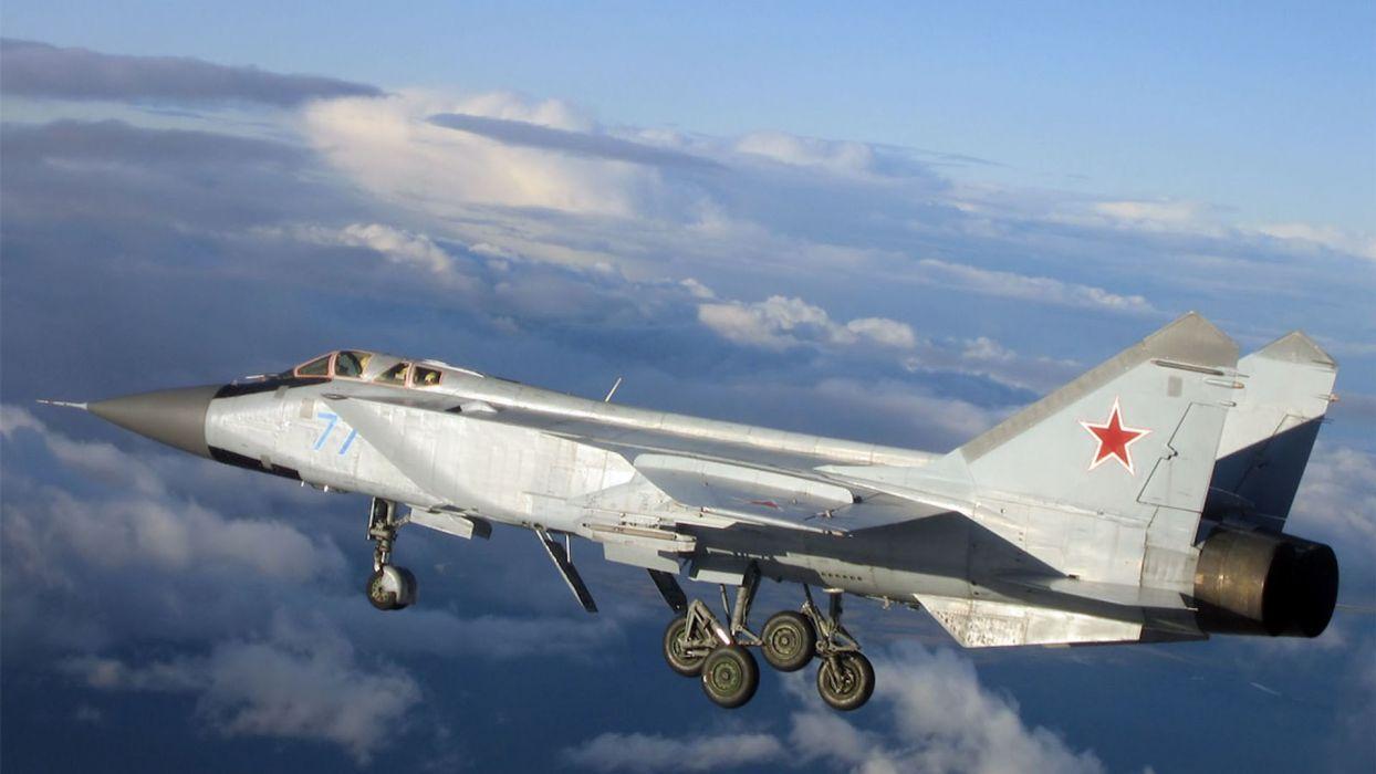 Mig 31 Foxhound Military Jet Wallpaper 1920x1080 220519