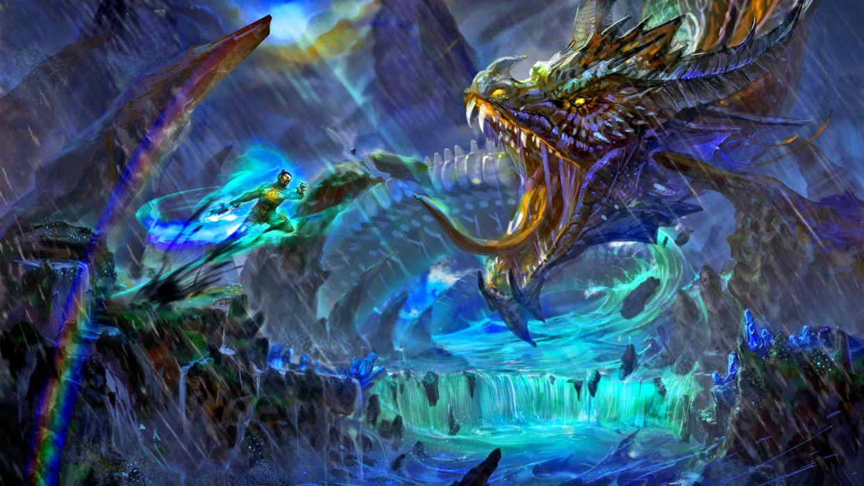 MTORANGE battle dragon wallpaper