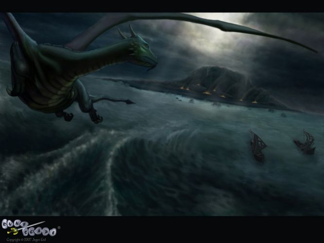 RUNESCAPE fantasy adventure dragon warrior wallpaper