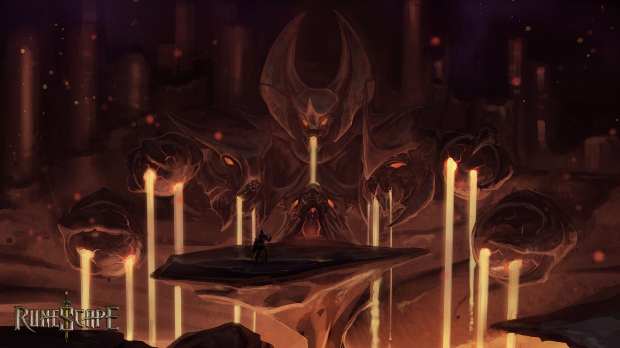 RUNESCAPE fantasy adventure monster dark demon wallpaper