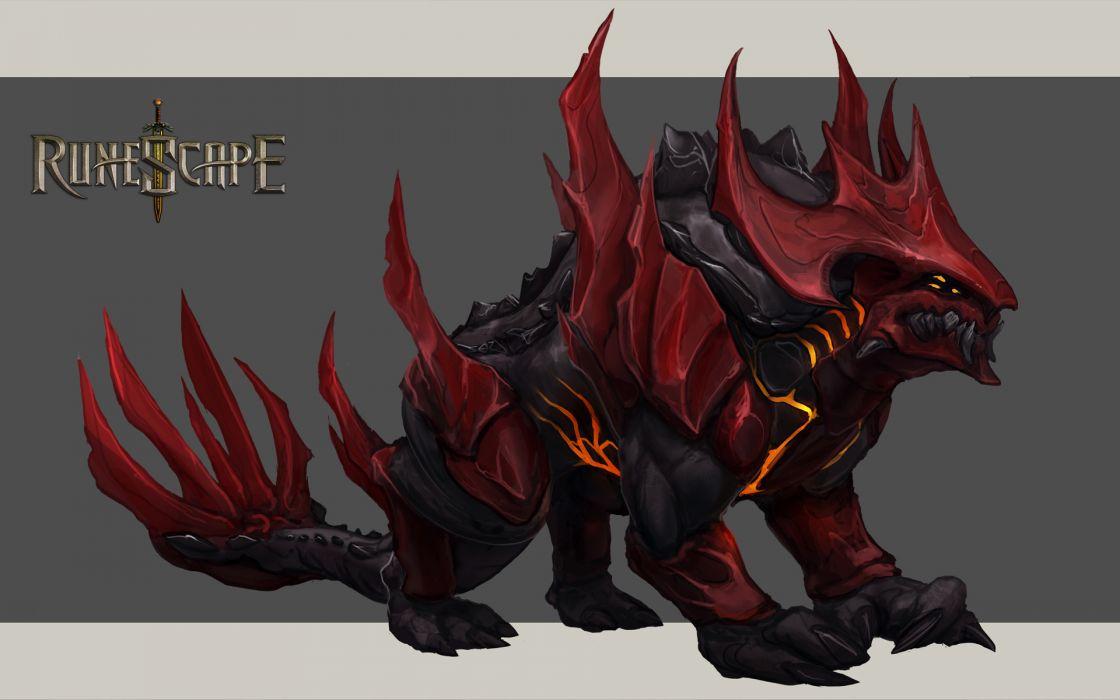 RUNESCAPE fantasy adventure monster wallpaper