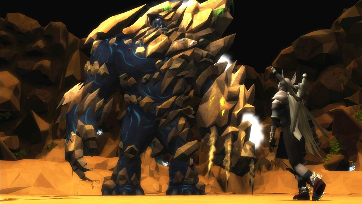 RUNESCAPE fantasy adventure warrior monster wallpaper