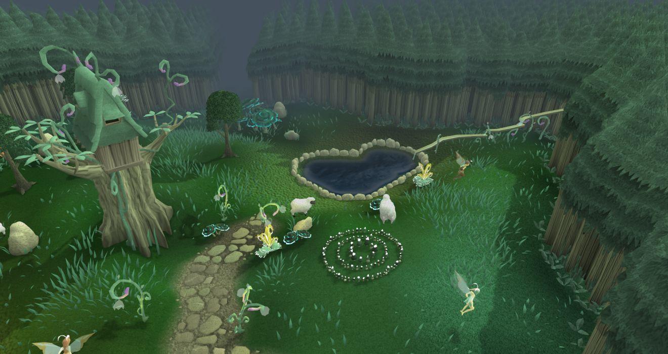 RUNESCAPE fantasy adventure map wallpaper