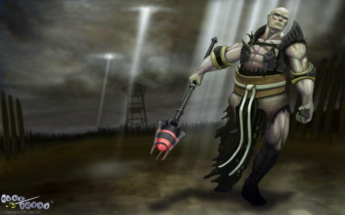 RUNESCAPE fantasy adventure warrior wizard magic wallpaper