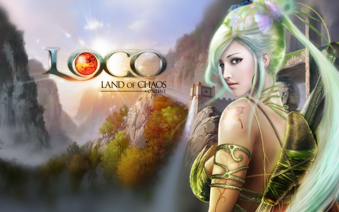 LAND OF CHAOS ONLINE fantasy poster wallpaper