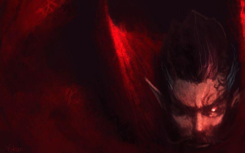 LAND OF CHAOS ONLINE fantasy dark demon wallpaper