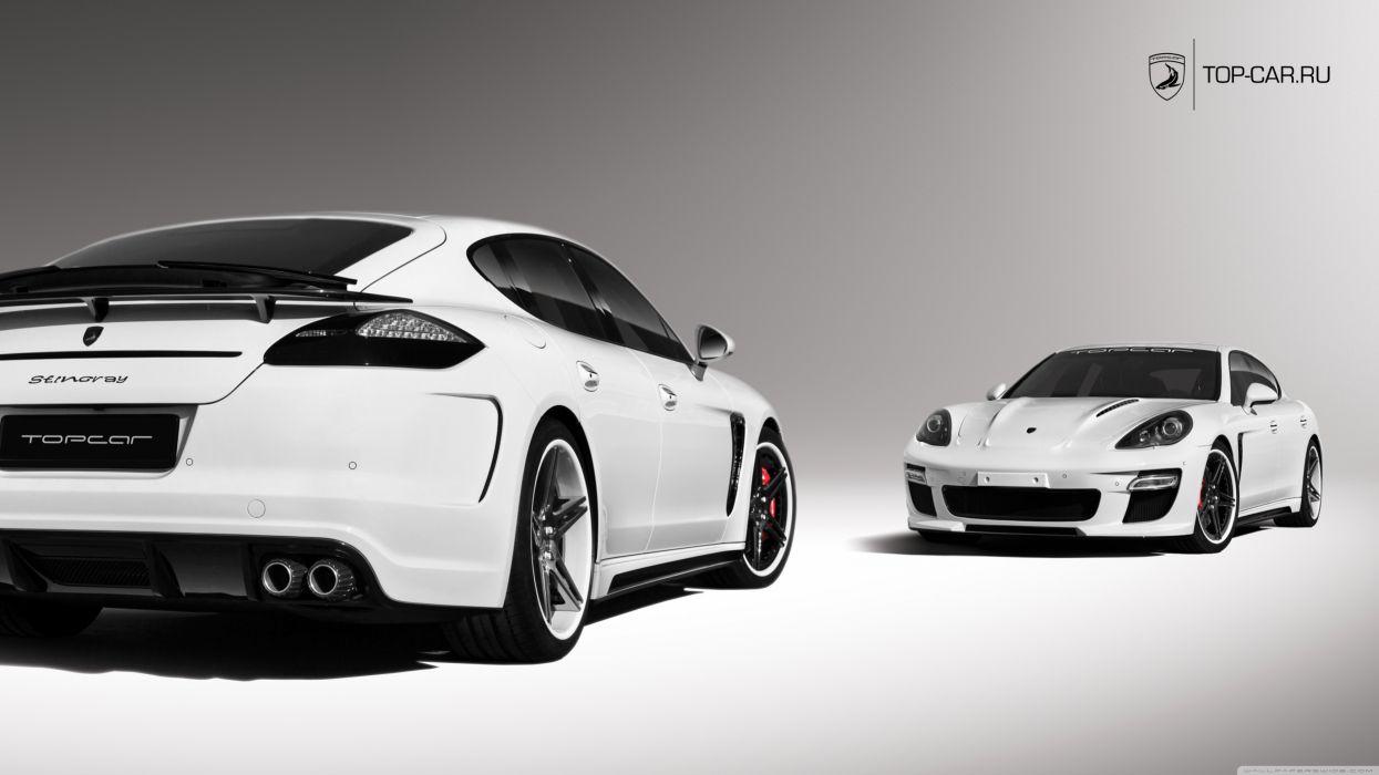 Porsche Panamera Stingray wallpaper