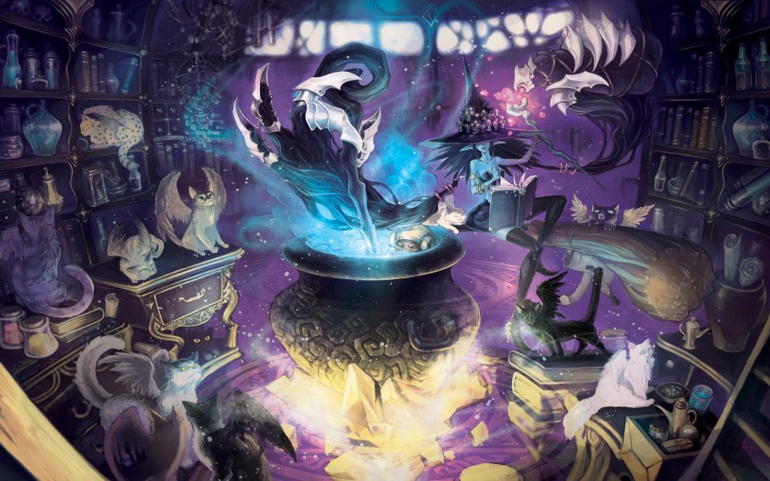 LAND OF CHAOS ONLINE fantasy wallpaper