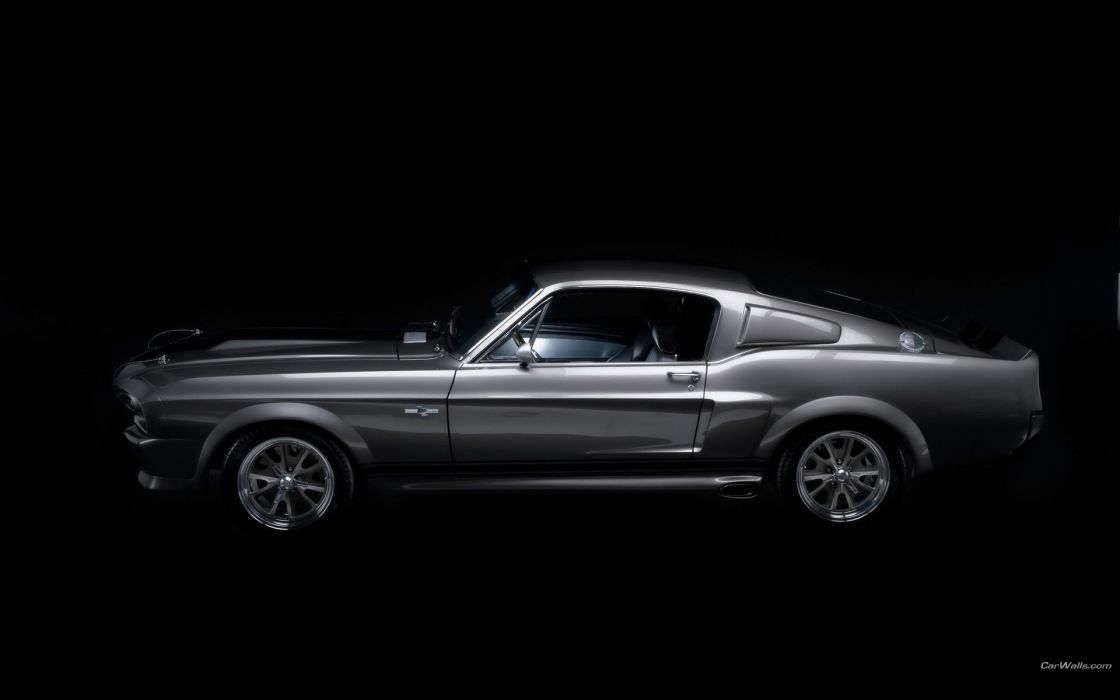 cars muscle cars Ford Mustang Shelby GT500 wallpaper