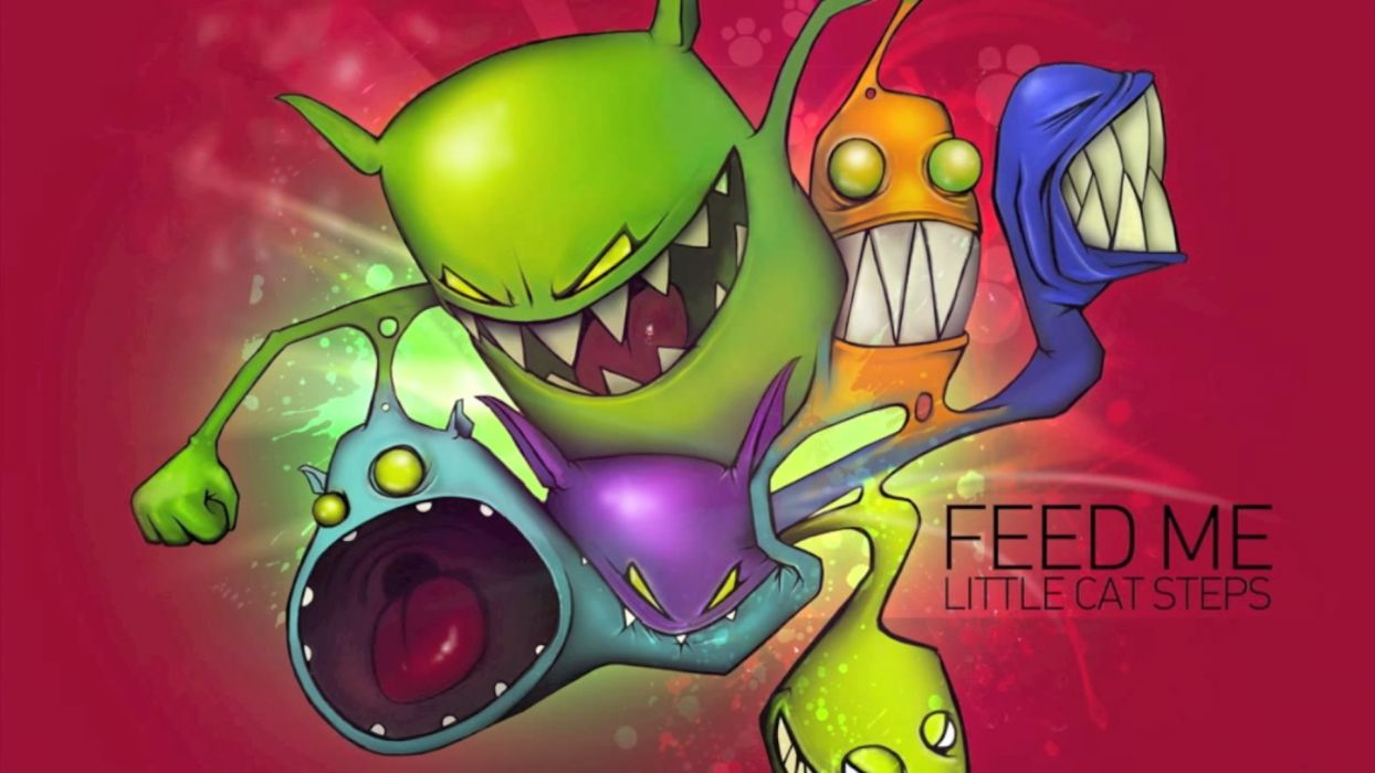 music dubstep drum and bass feed me wallpaper