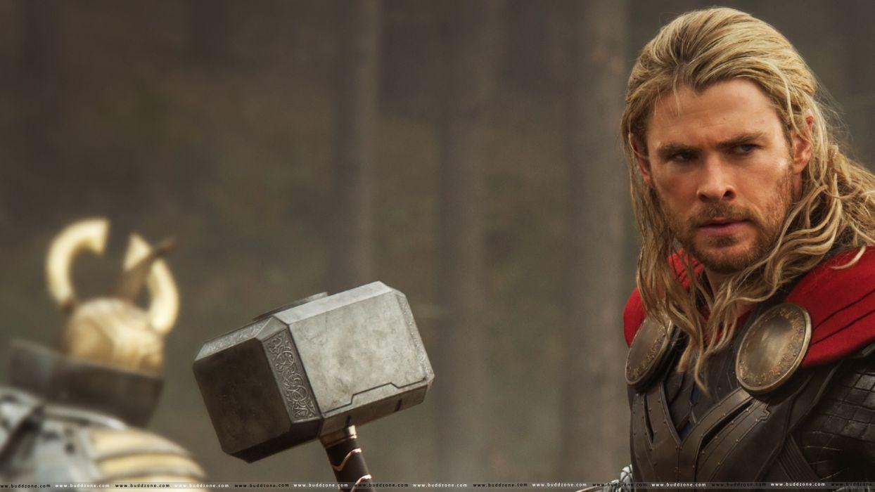 Thor Chris Hemsworth Mjolnir Thor The Dark World Wallpaper