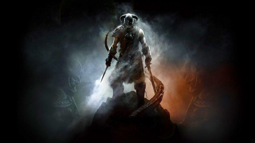video games The Elder Scrolls V: Skyrim Dovahkiin wallpaper