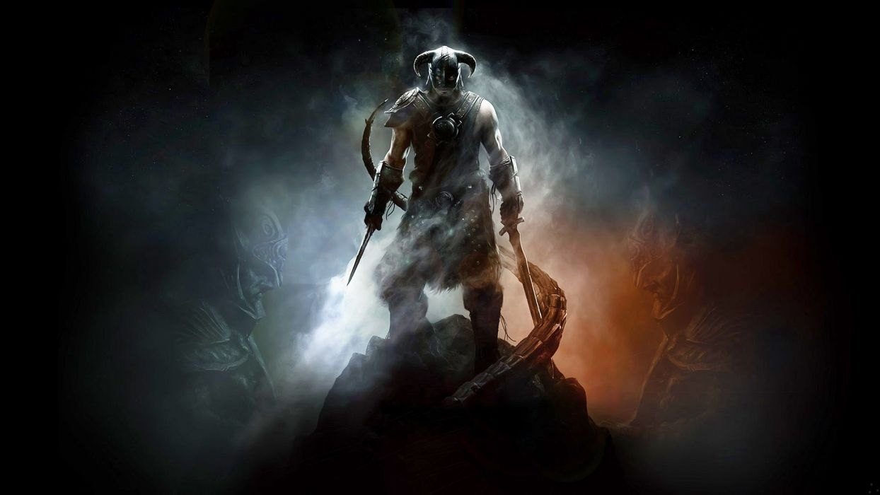 video games The Elder Scrolls V: Skyrim Dovahkiin wallpaper