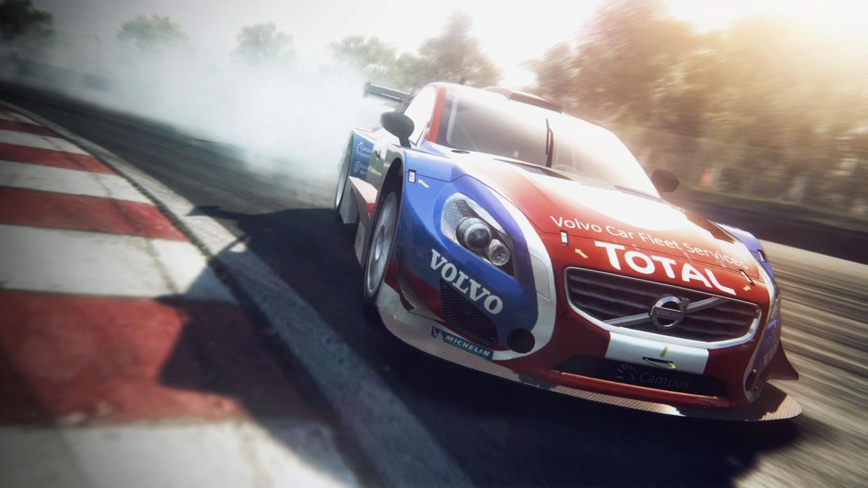 video games cars Volvo Grid 2 wallpaper