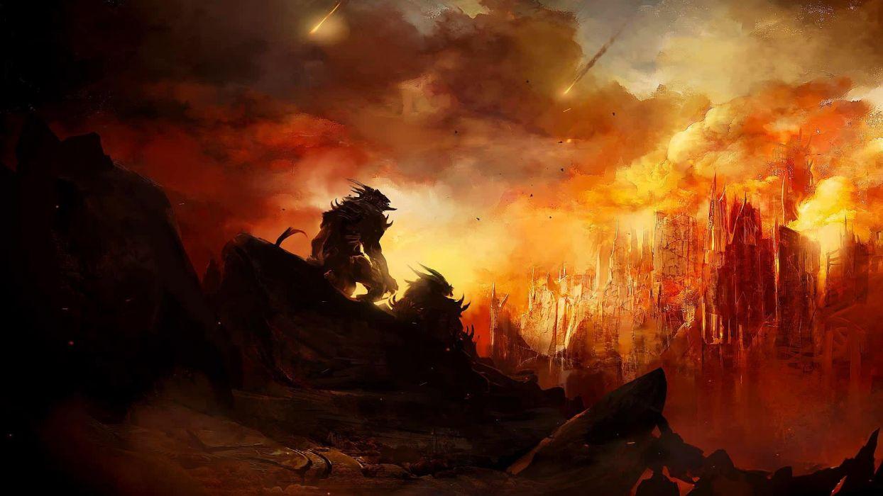 artwork Guild Wars 2 wallpaper