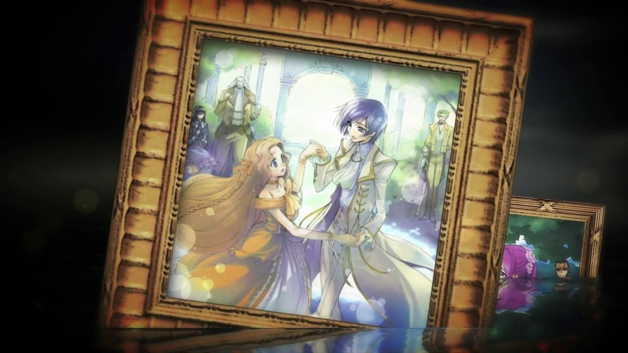 Code Geass Lamperouge Nunnally Lamperouge Lelouch dancing Charles zi Britannia Marianne vi Britannia Gottwald Jeremiah picture frame wallpaper