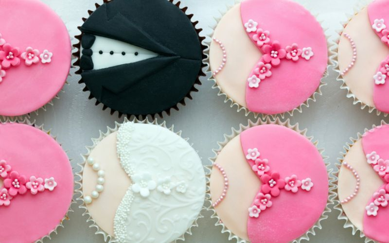 cupcakes brides pie weddings groom wallpaper