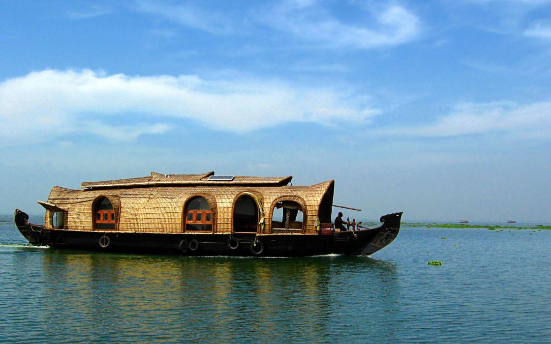 India boats vehicles wallpaper