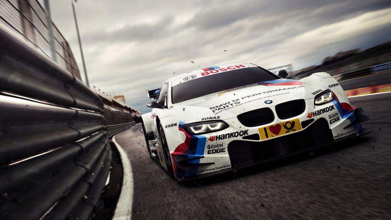 BMW cars vehicles motorsports Deutsche Tourenwagen Masters bmw m series wallpaper