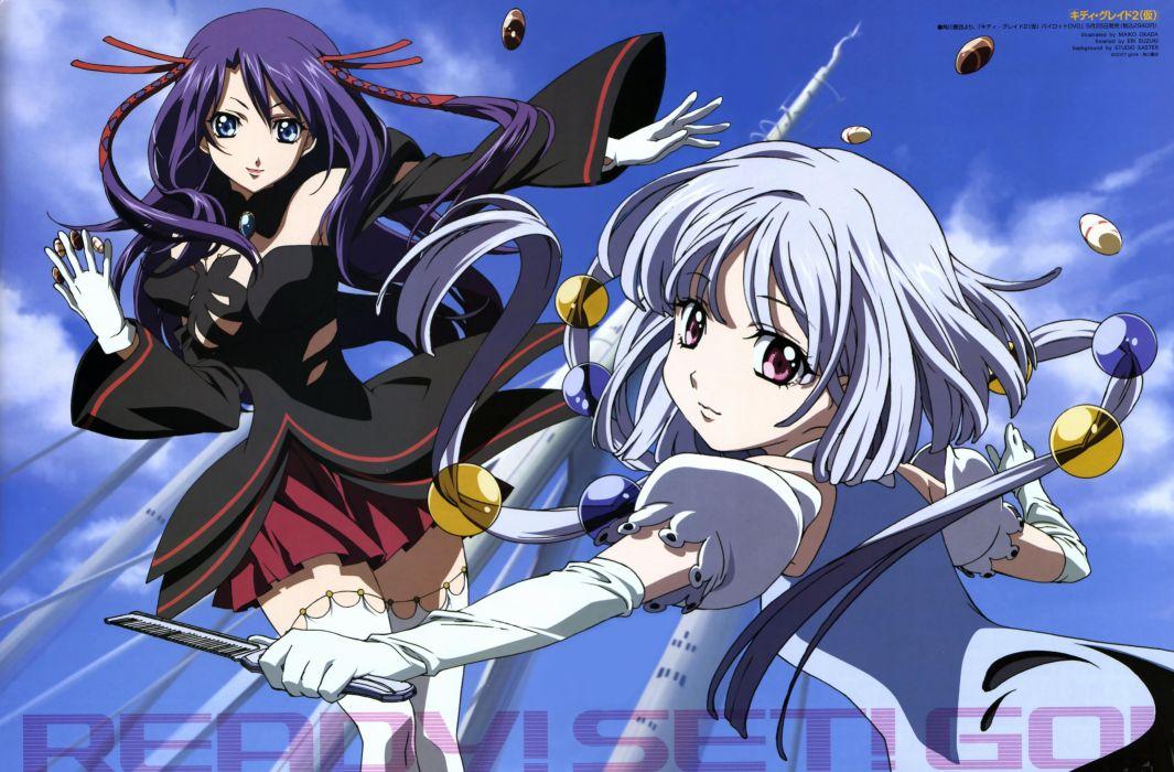 Kiddy Grade anime anime girls Kiddy Girl-and wallpaper
