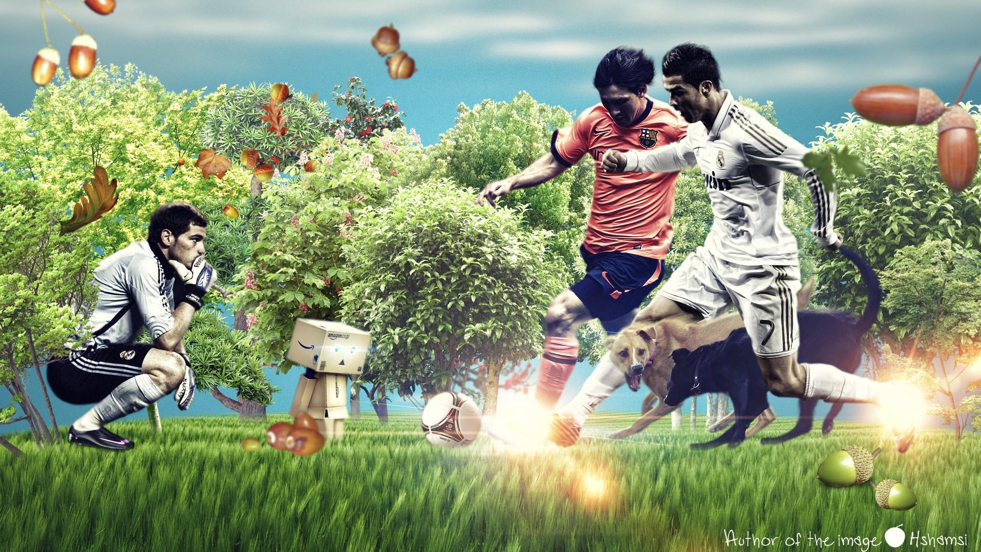 Sports Soccer Funny Real Madrid Lionel Messi Iker Casillas Cristiano