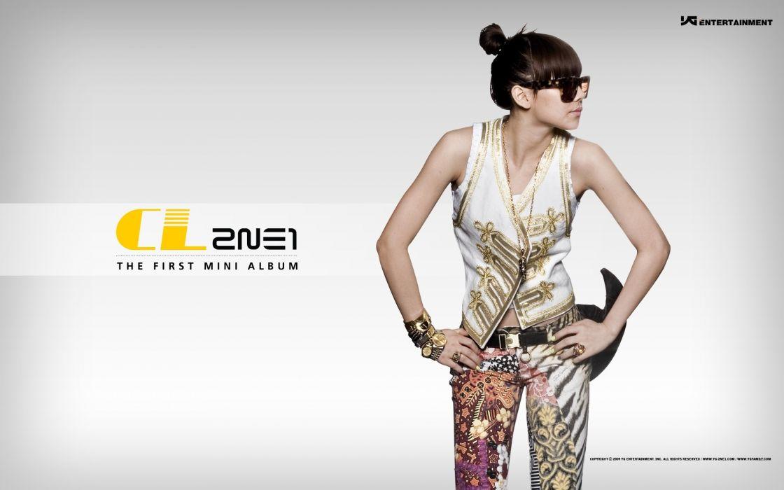 women 2NE1 K-Pop CL (singer) wallpaper