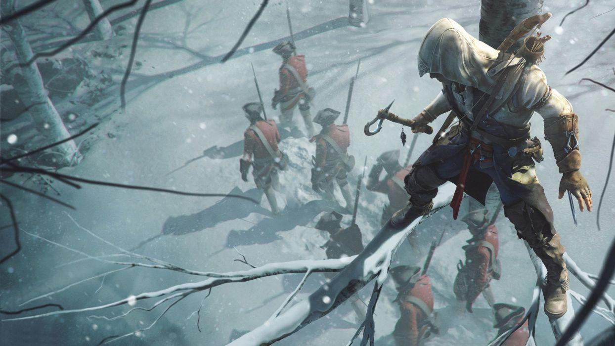 video games assassins Assassins Creed 3 games pc games wallpaper