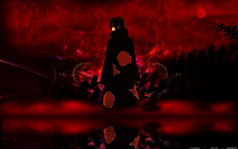 Naruto: Shippuden Akatsuki Uchiha Itachi wallpaper ...