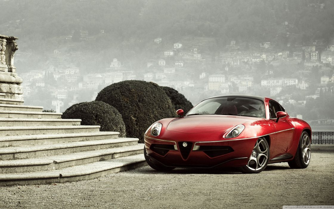 Alfa Romeo Disco Volante Touring 2013 wallpaper