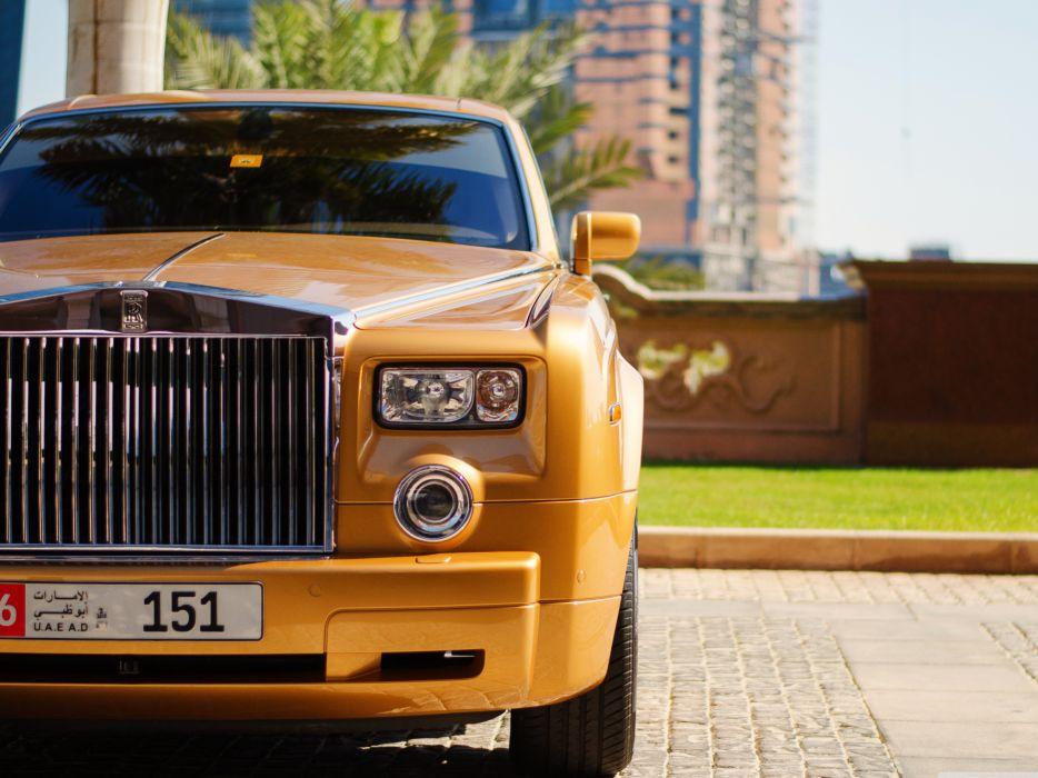 The Rolls-Royce wallpaper