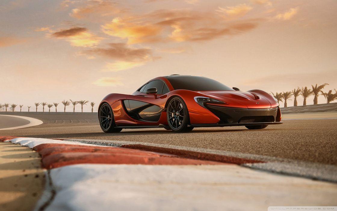 McLaren P1 Test Drive wallpaper