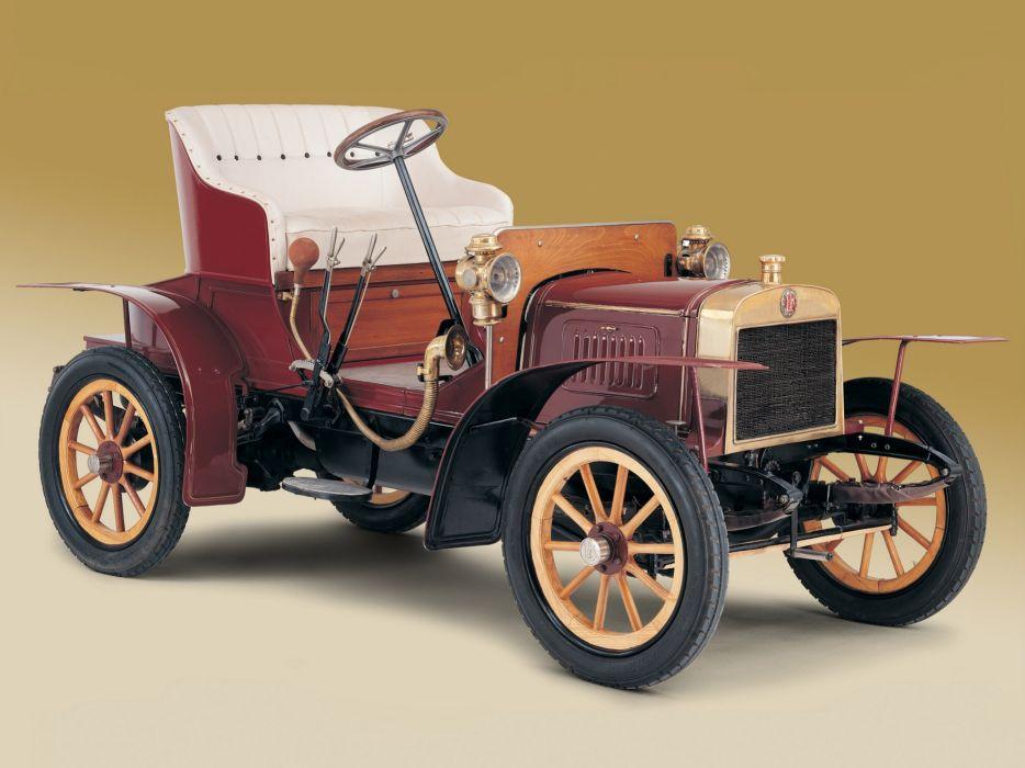 1905 Laurin Klement Model-A retro  r wallpaper