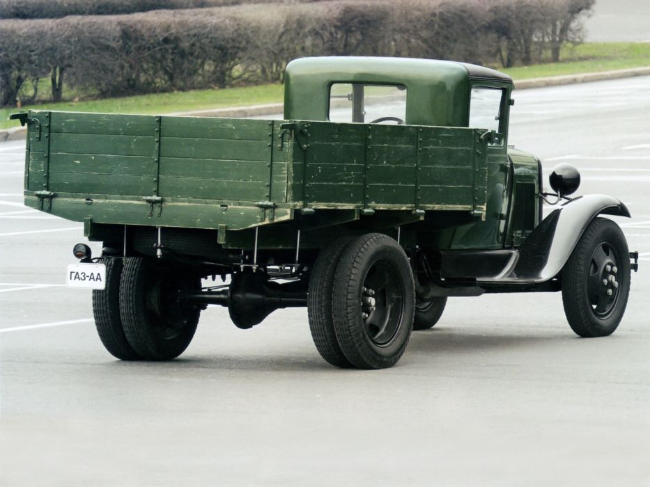1932-38 GAZ A-A pickup retro semi tractor  f wallpaper