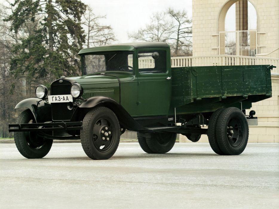 1932-38 GAZ A-A pickup retro semi tractor        g wallpaper
