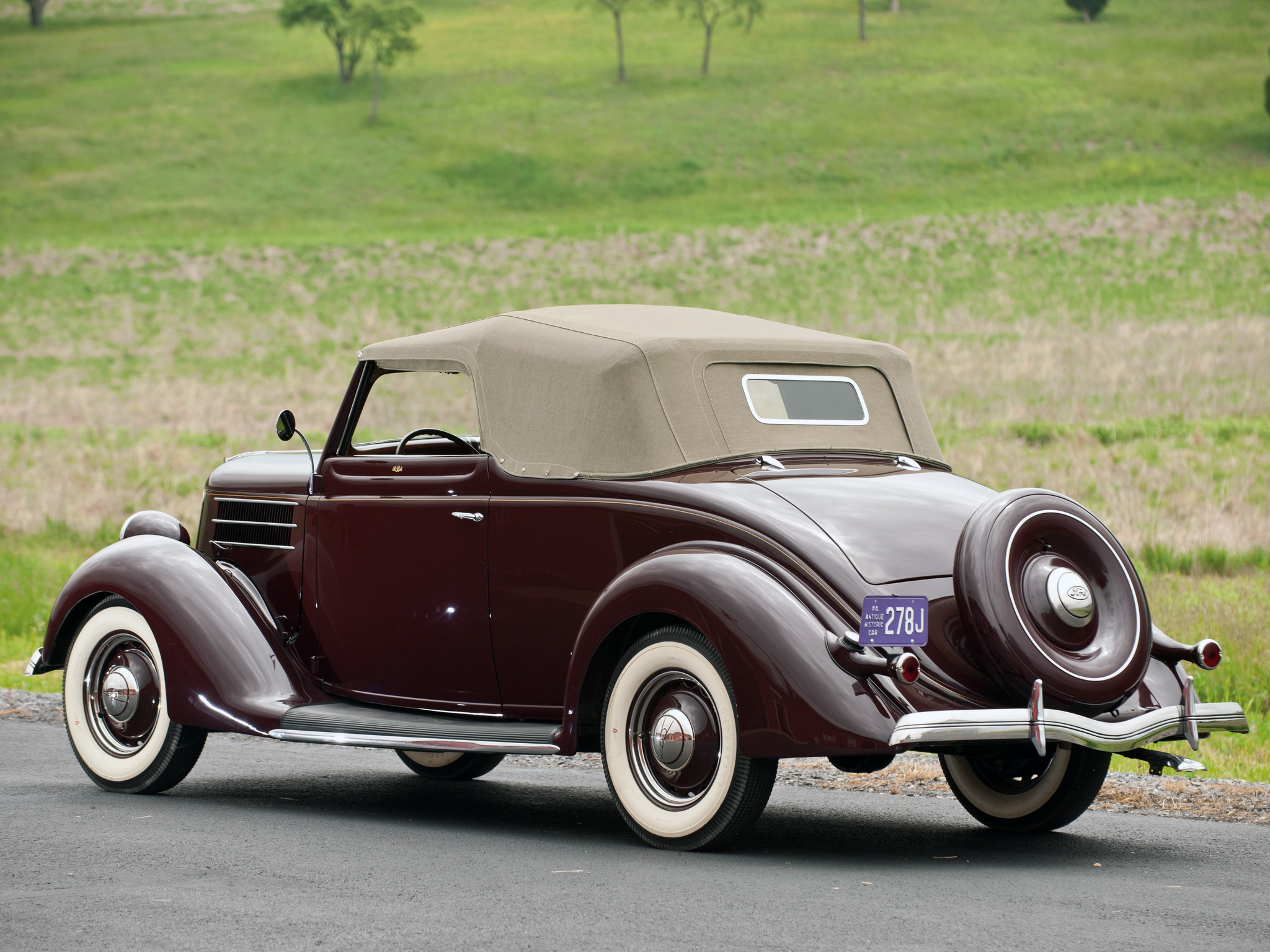 1936 ford v8 deluxe convertible coupe 68 730 retro v 8 fs wallpaper 2048x1536 221219 wallpaperup