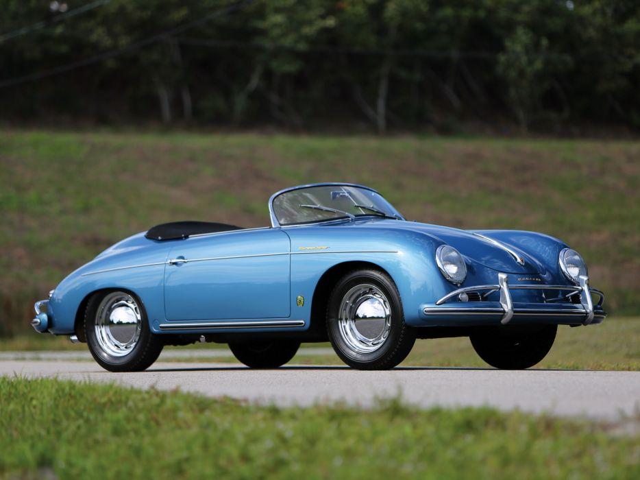 1955-57 Porsche 356A 1600 Speedster Reutter US-spec (T-1) supercar retro b wallpaper