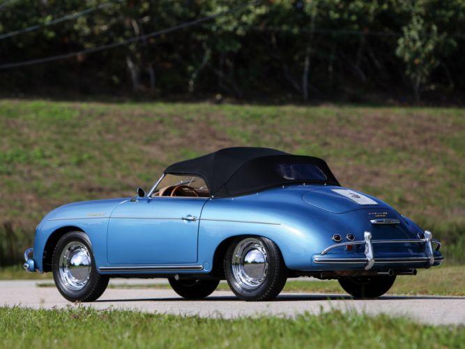 1955-57 Porsche 356A 1600 Speedster Reutter US-spec (T-1) supercar retro v wallpaper