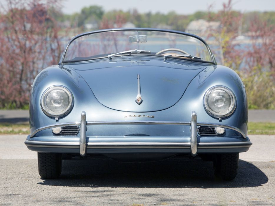 1955-57 Porsche 356A 1600 Speedster Reutter US-spec (T-1) supercar retro  ei wallpaper