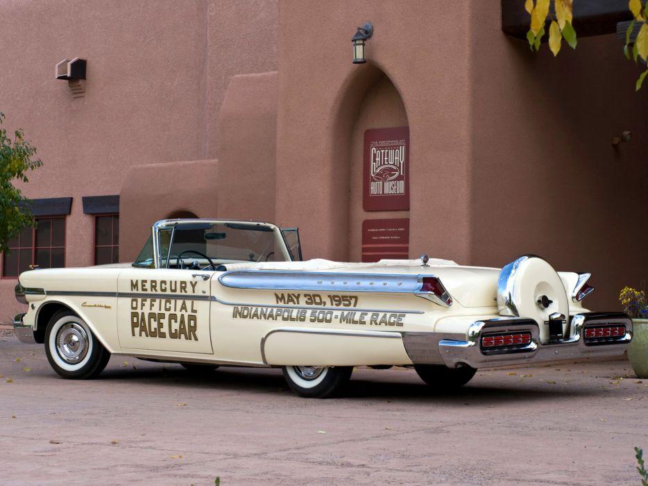 1957 Mercury Turnpike Cruiser Convertible Indy 500 Pace (76S) luxury retro race racing e wallpaper