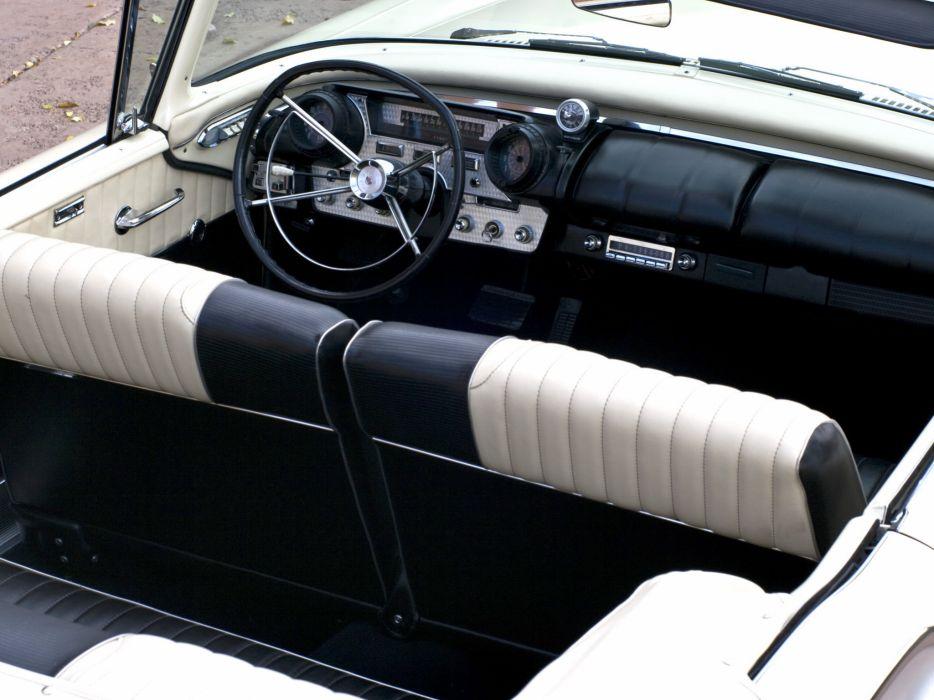 1957 Mercury Turnpike Cruiser Convertible Indy 500 Pace (76S) luxury retro race racing interior    g wallpaper