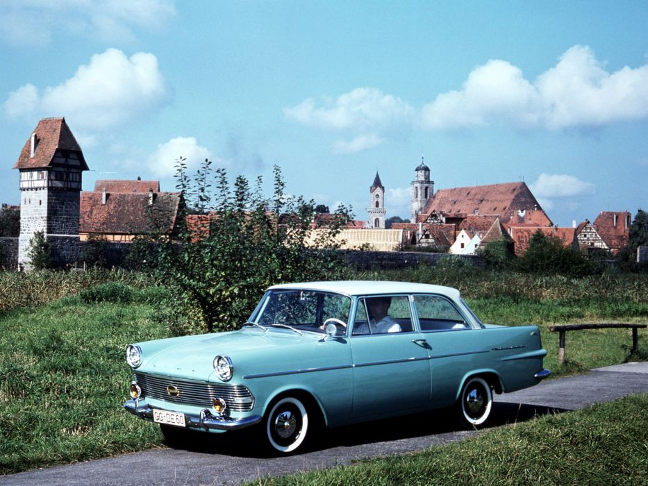 1960-63 Opel Rekord 2-door Sedan (P-2) classic      f wallpaper